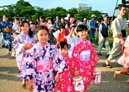 Yukatas japonesas
