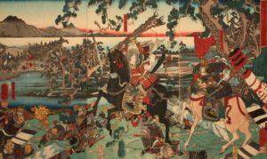samurai en guerra