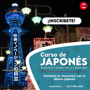 curso japones starter II sabado