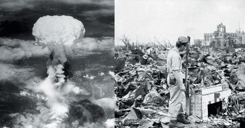 bombardeo hiroshima y nagasaki