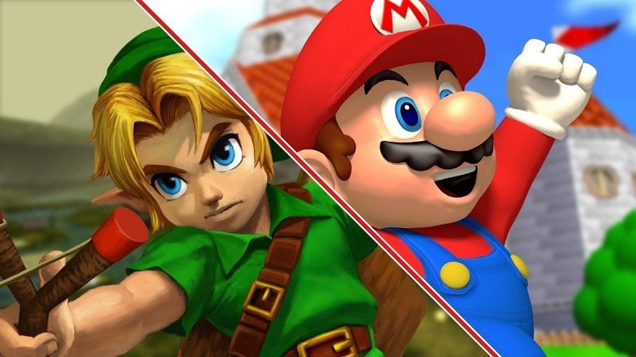 Link y Mario Bros