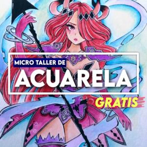 Microtaller de pintura con Acuarela